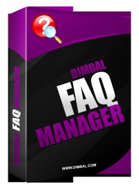 Dimbal FAQ Manager