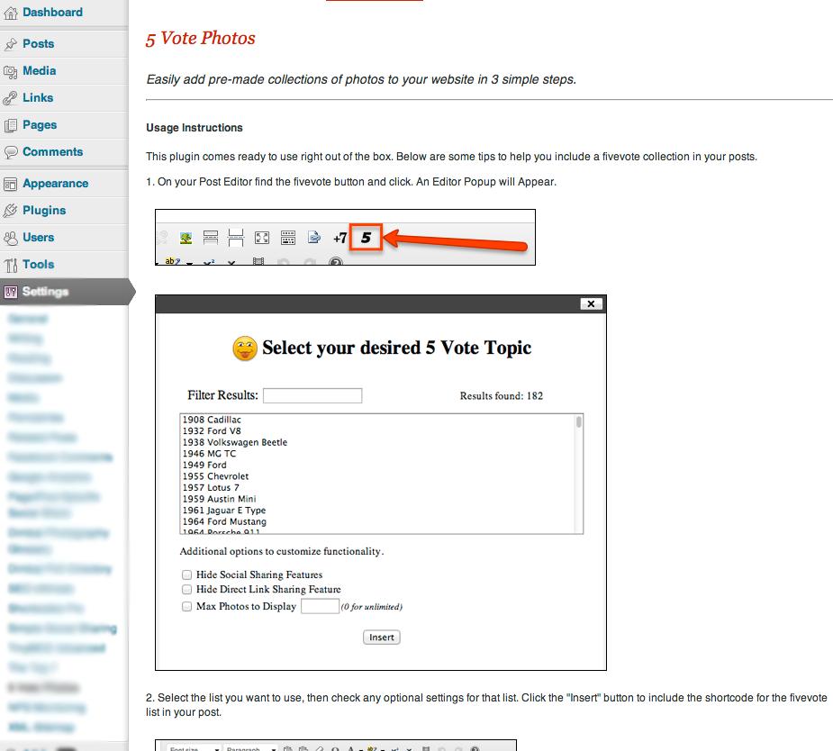 5vote.com wordpress plugin