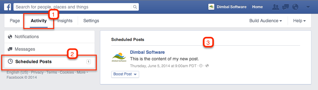 How to Delete or Reschedule a Scheduled Post on Facebook